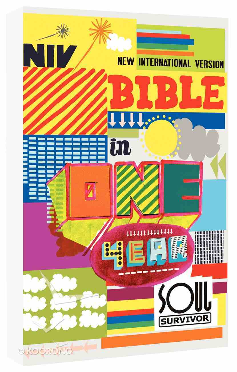 NIV Soul Survivor Bible in One Year (Anglicised Text) Paperback