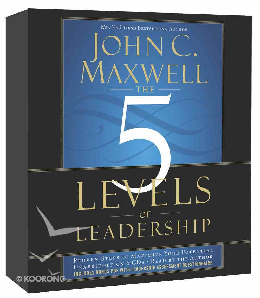 The Five Levels of Leadership (Unabridged, 6cds) CD