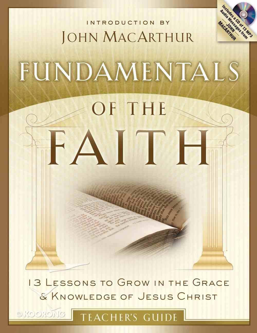 Fundamentals of the Faith (Teacher's Guide With Mp3) eBook