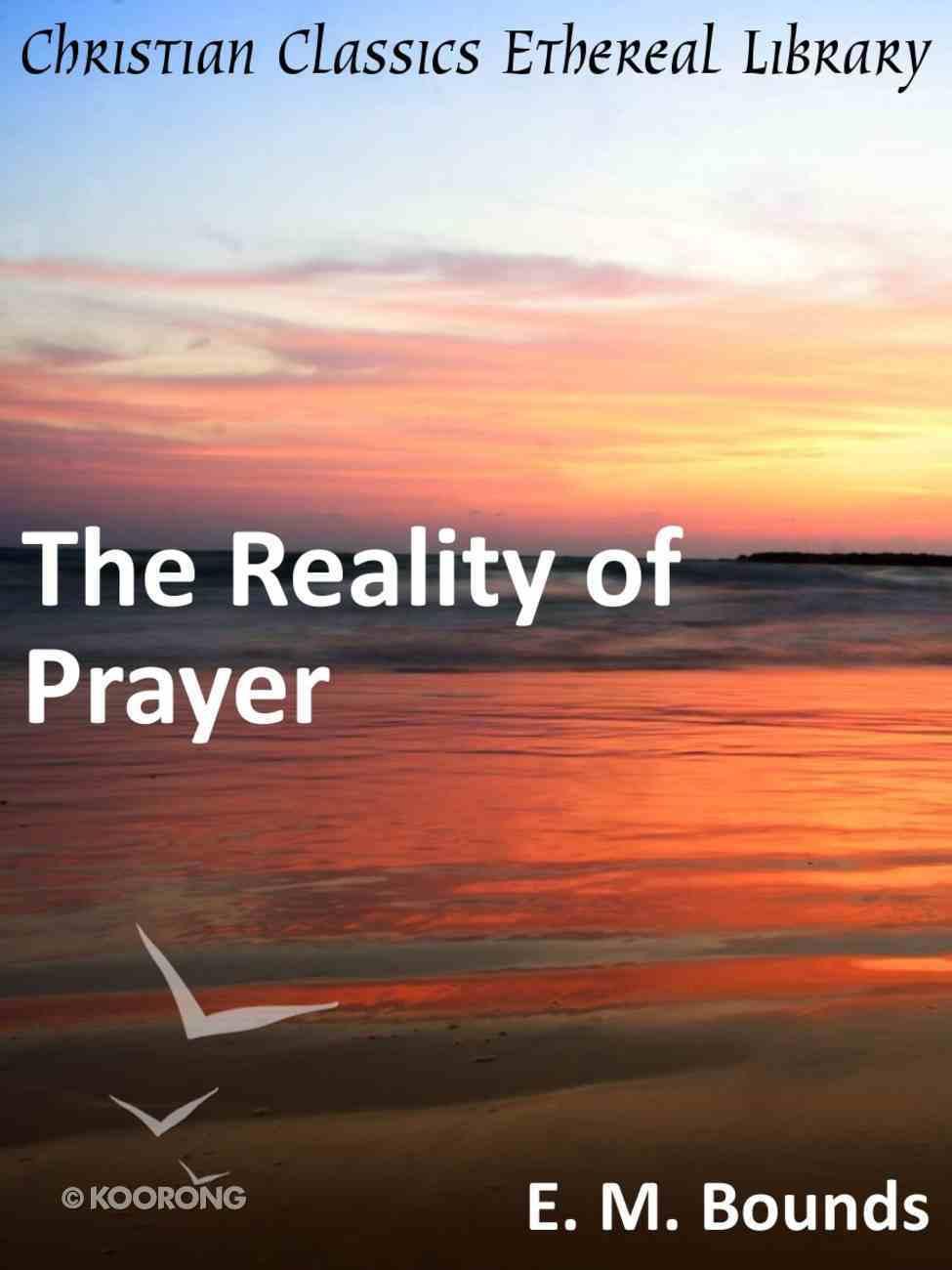 Reality of Prayer eBook