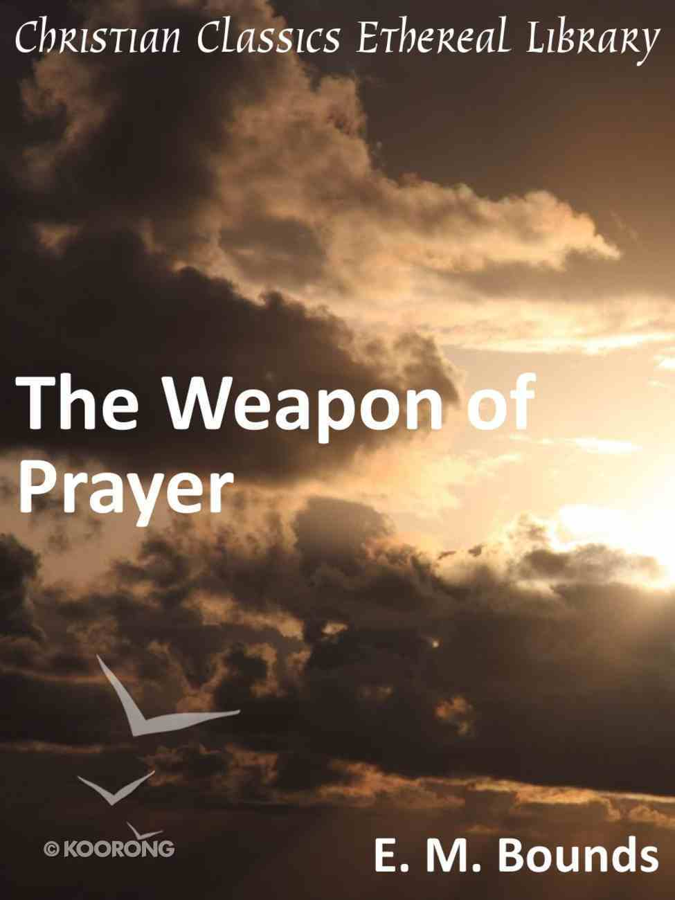 Weapon of Prayer eBook