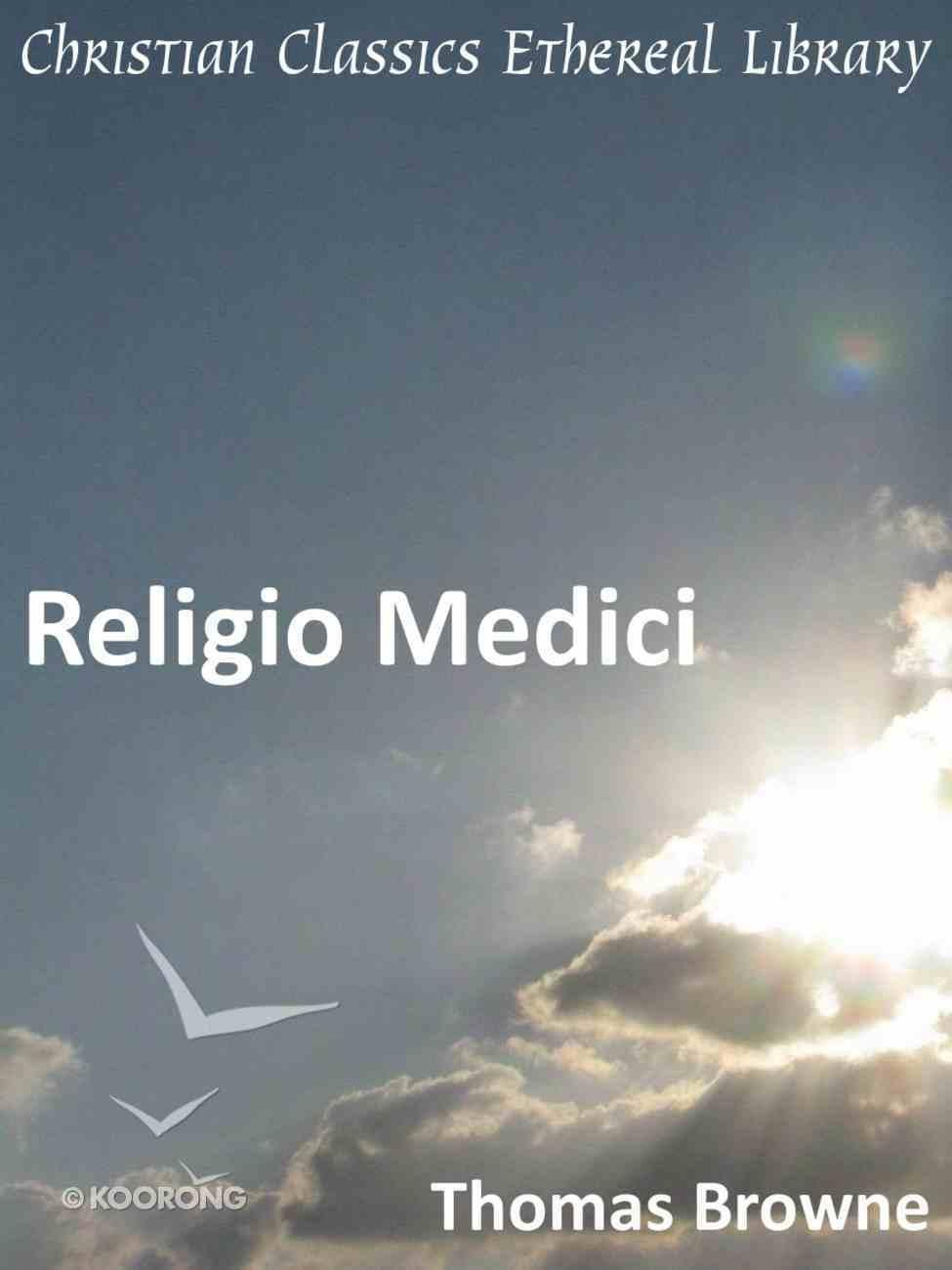 Religio Medici eBook