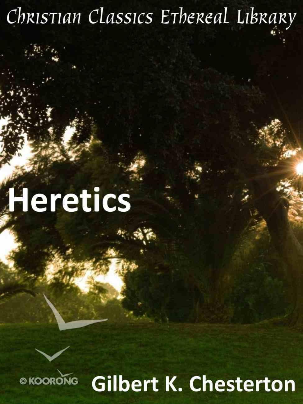 Heretics eBook