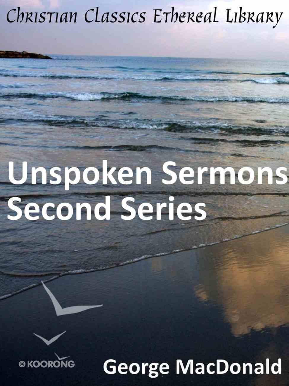 Unspoken Sermons Series Two eBook