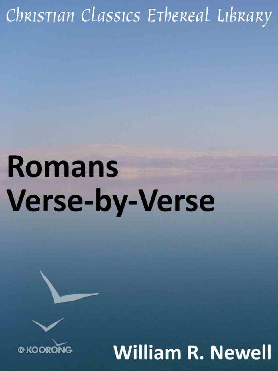 Romans Verse-By-Verse eBook