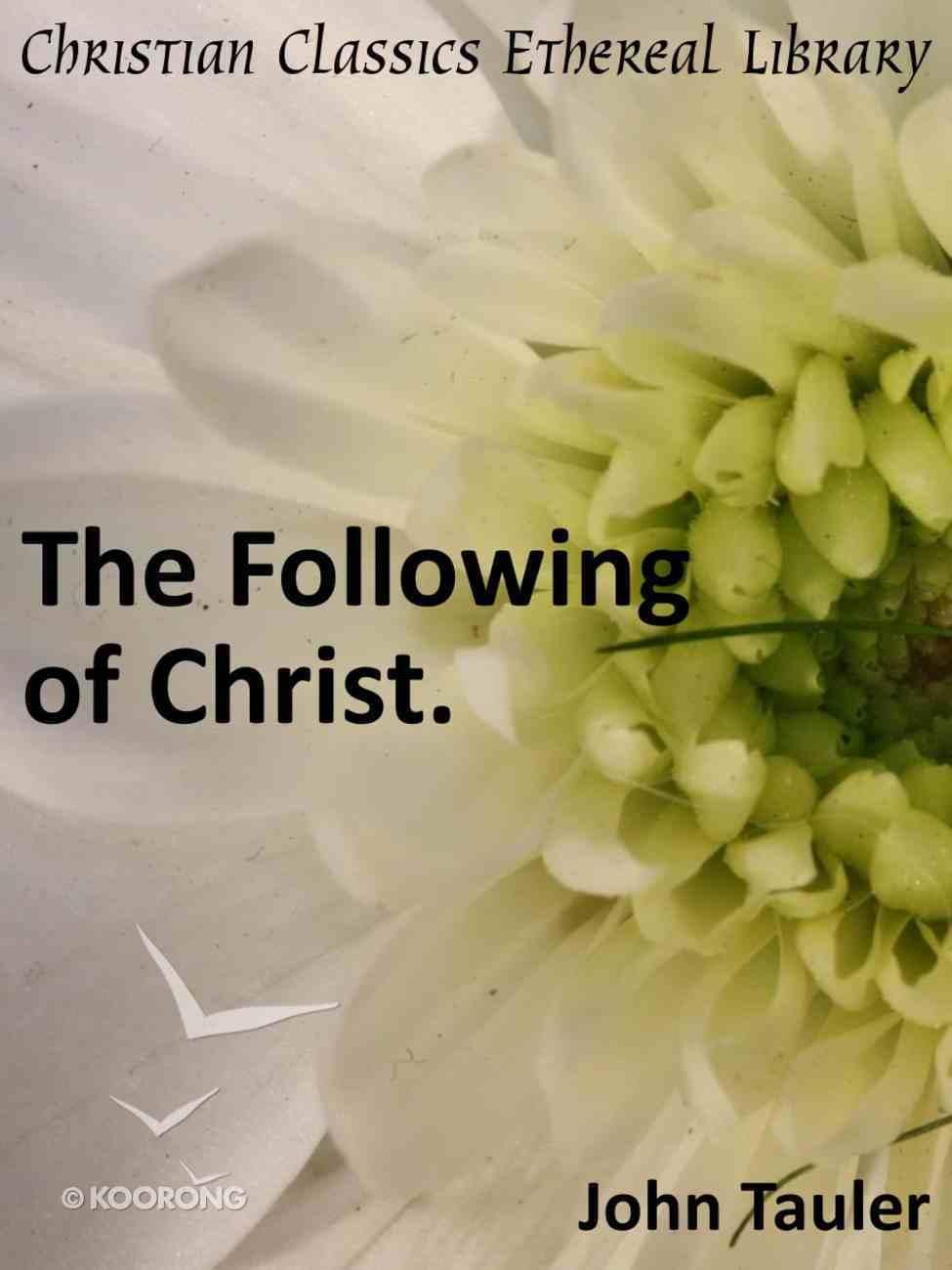 Following of Christ eBook