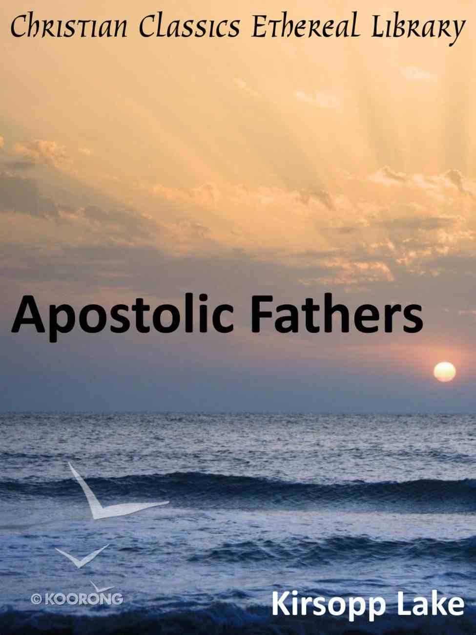 Apostolic Fathers eBook