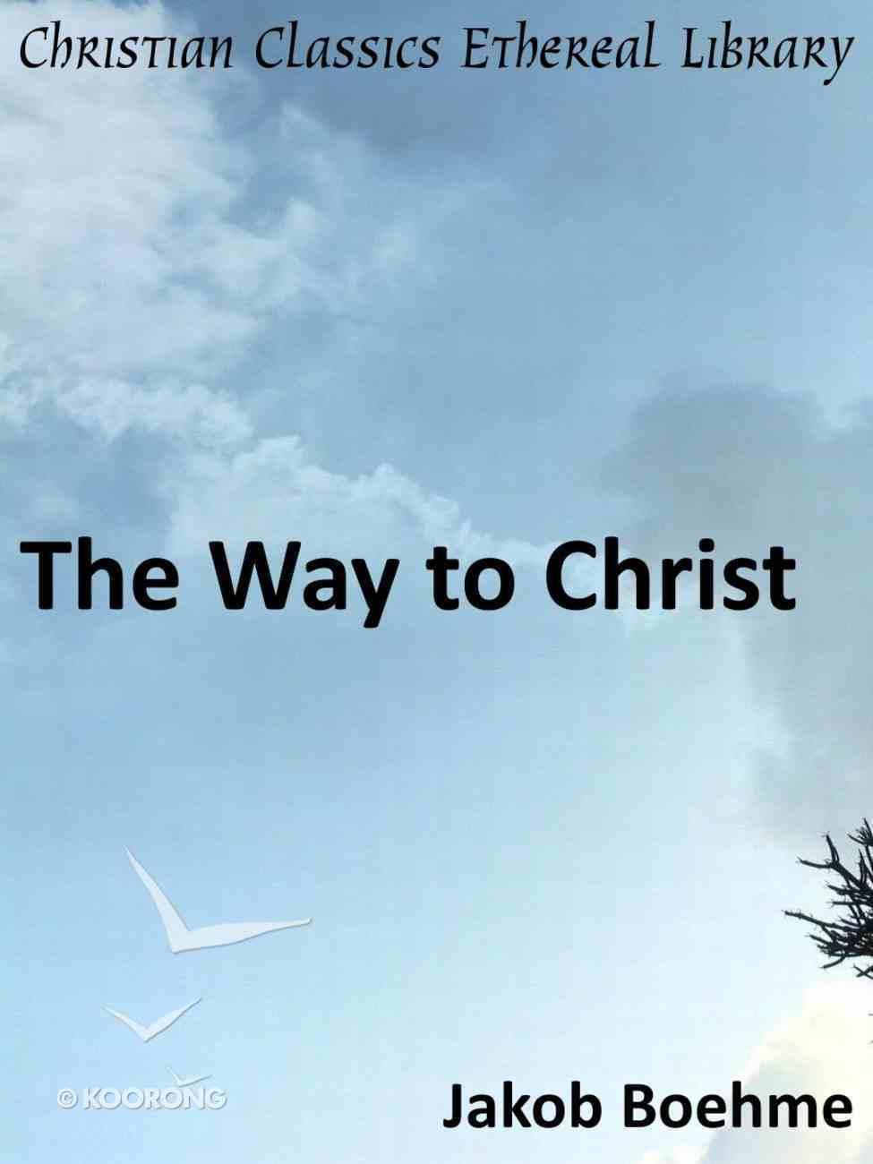 Way to Christ eBook