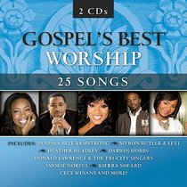 Album Image for Gospels Best Worship Double CD - DISC 1