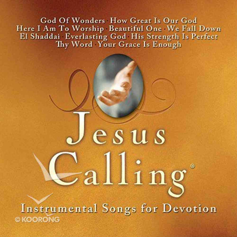 Jesus Calling: Instrumental Songs of Devotion CD