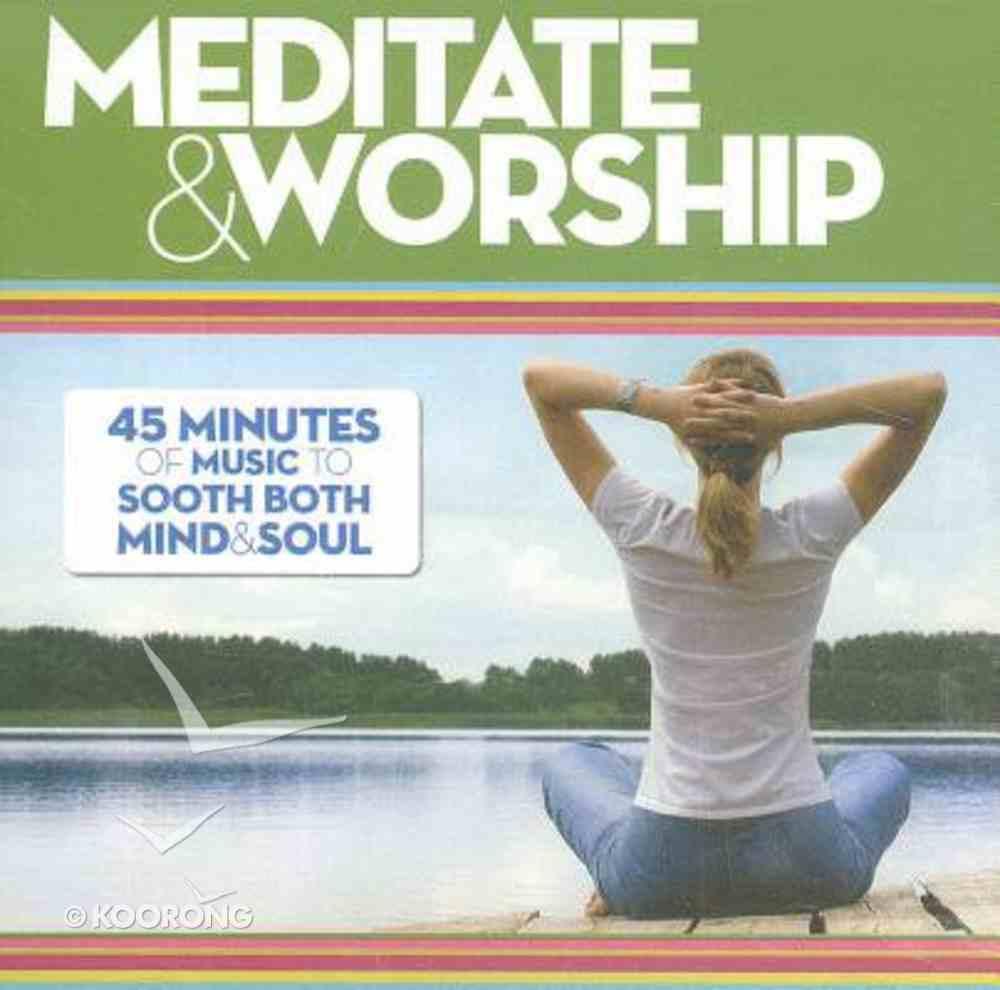 Meditate and Worship CD