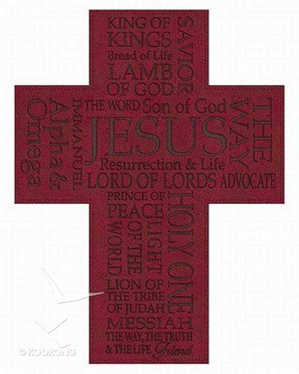 Soft Tone Wall Cross: Names of Jesus Homeware