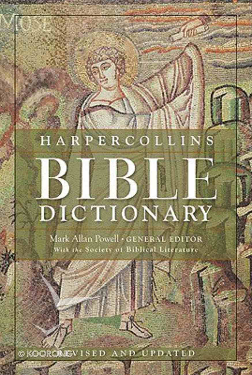 The Harpercollins Bible Dictionary (3rd Edition) Hardback