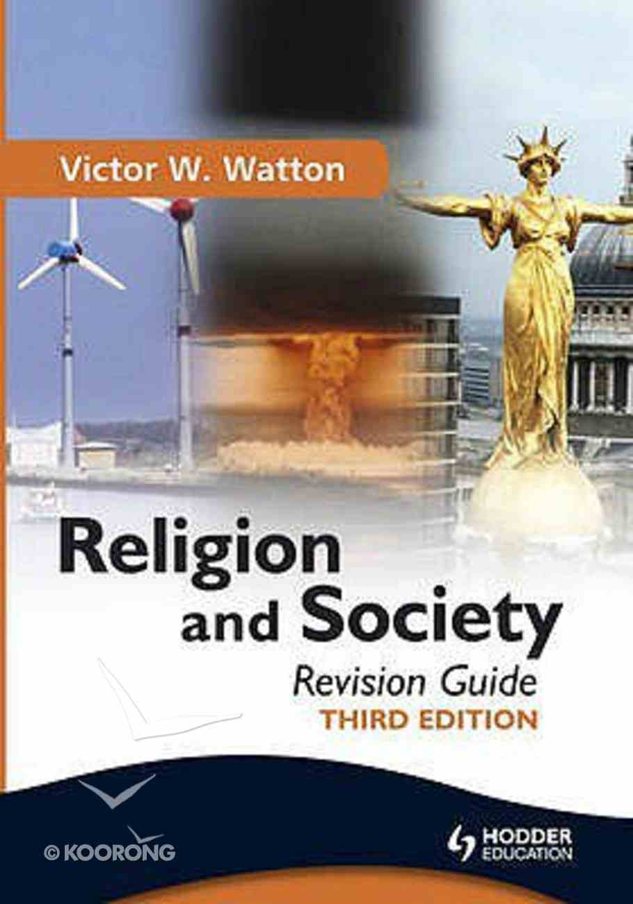 Religion and Society: Revision Guide (Third Edition) Paperback