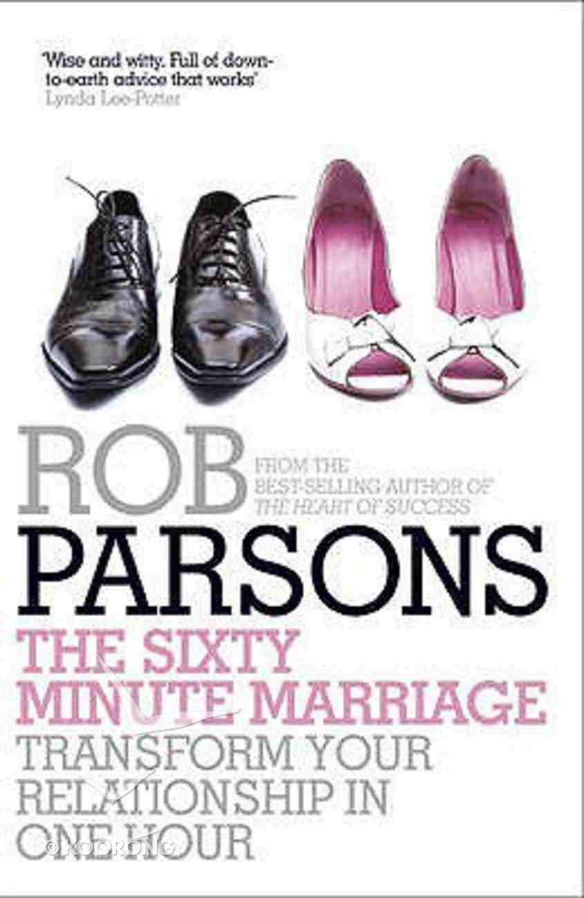 The Sixty Minute Marriage Paperback