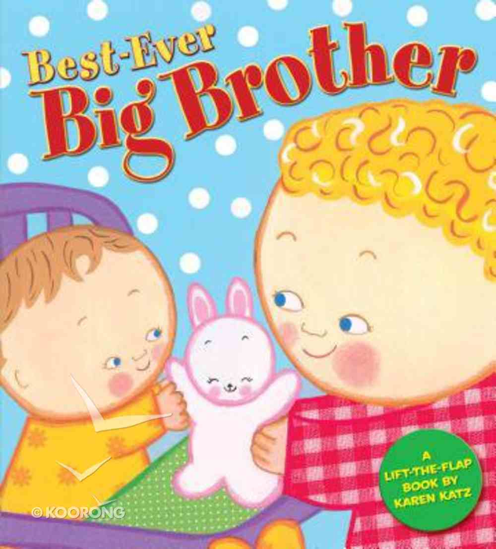 Best-Ever Big Brother Board Book
