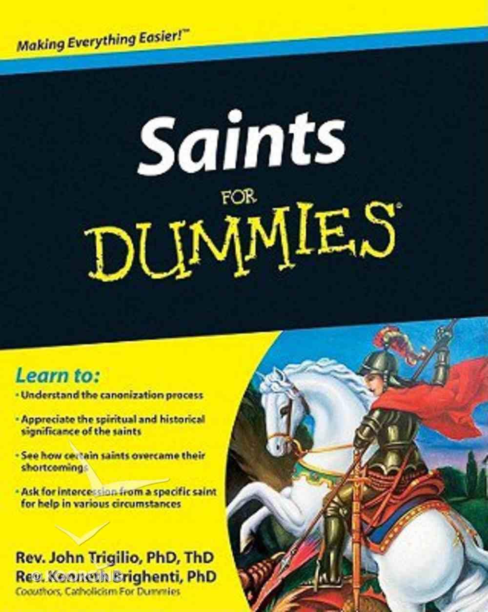 Saints For Dummies Paperback