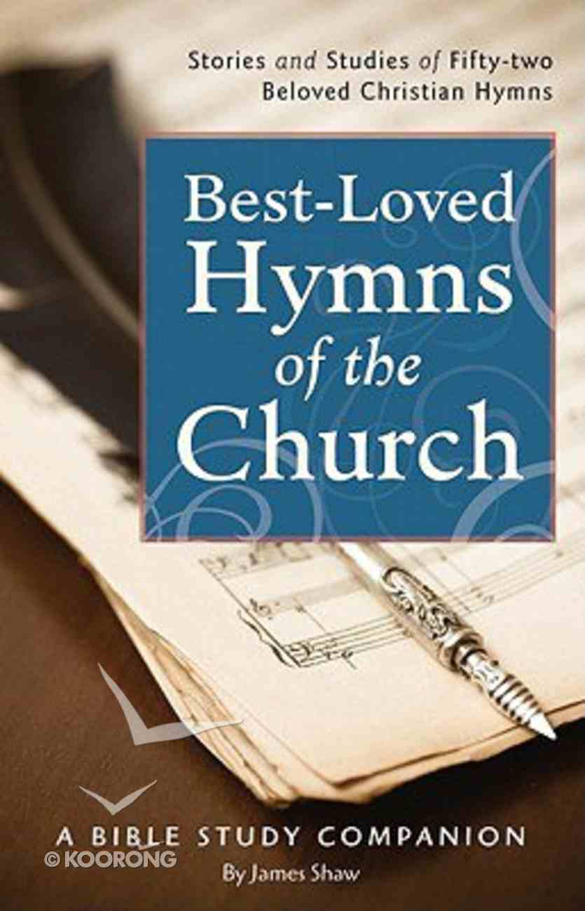 Best-Loved Hymns of the Church Devotional Book Paperback