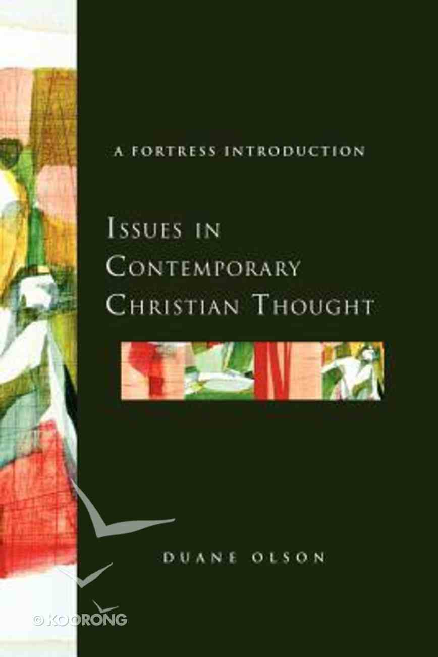 Issues in Contemporary Christian Thought Paperback