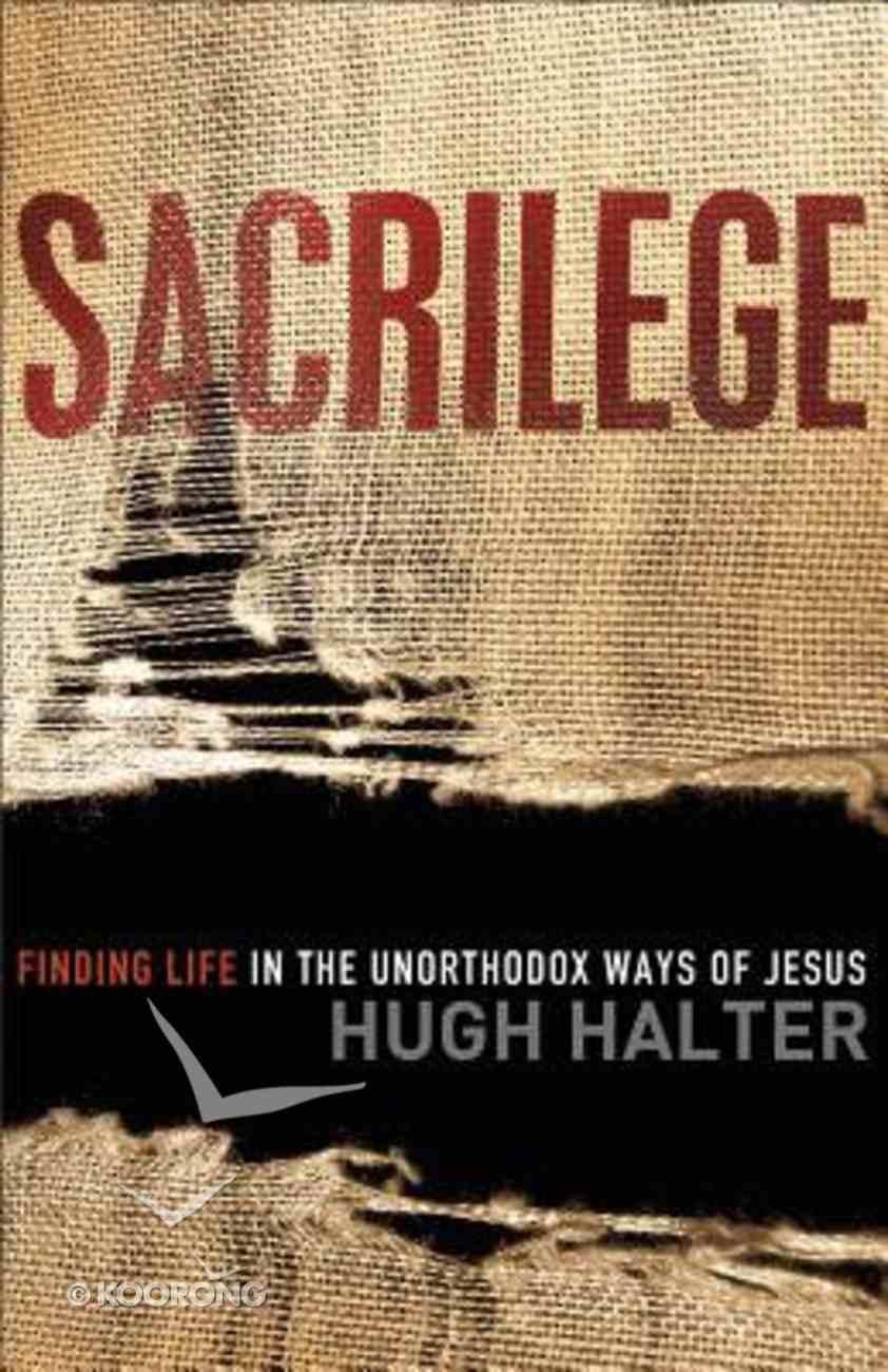 Sacrilege Paperback