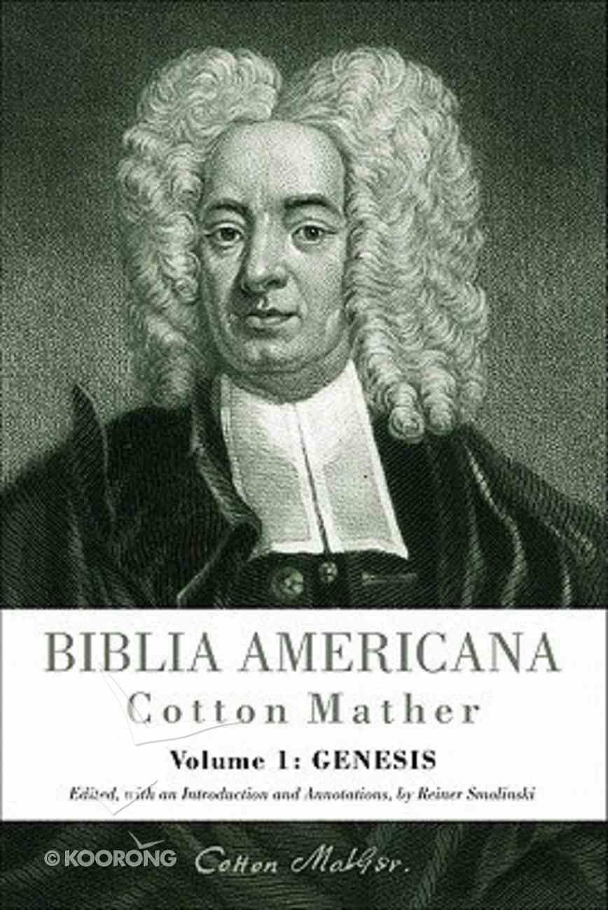 Biblia Americana Volume 1: Genesis Hardback