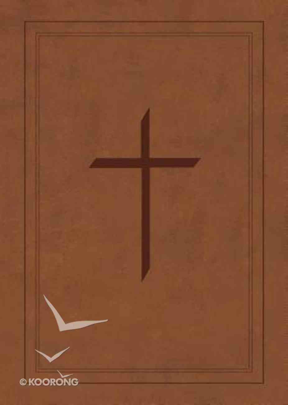 NASB Ryrie Study Bible Brown (Red Letter Edition) Imitation Leather