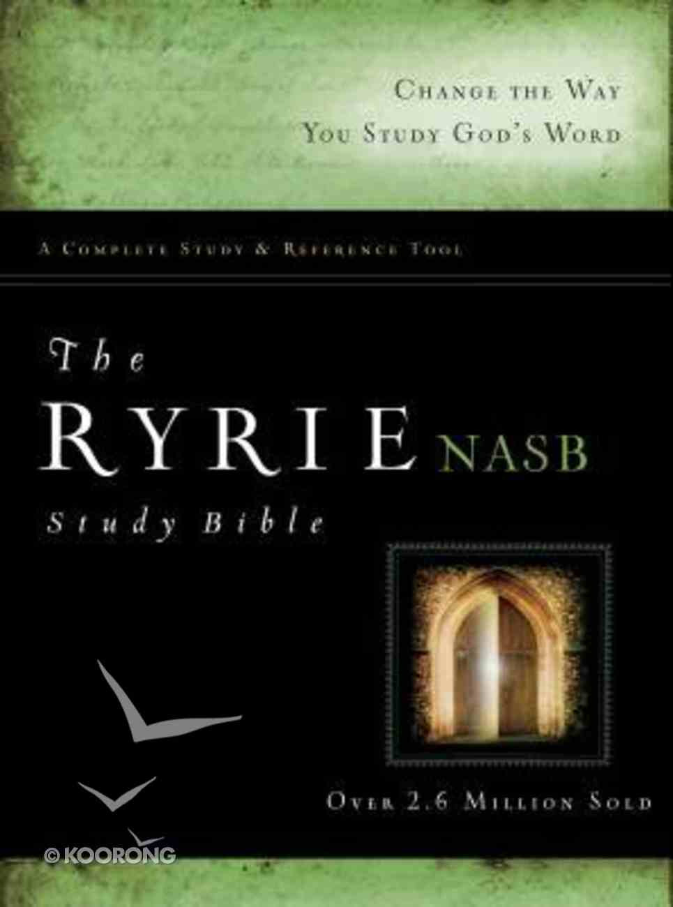 NASB Ryrie Study Bible Indexed (Red Letter Edition) Hardback
