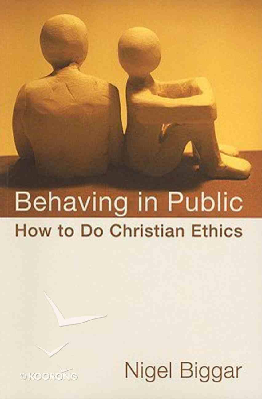Behaving in Public Paperback