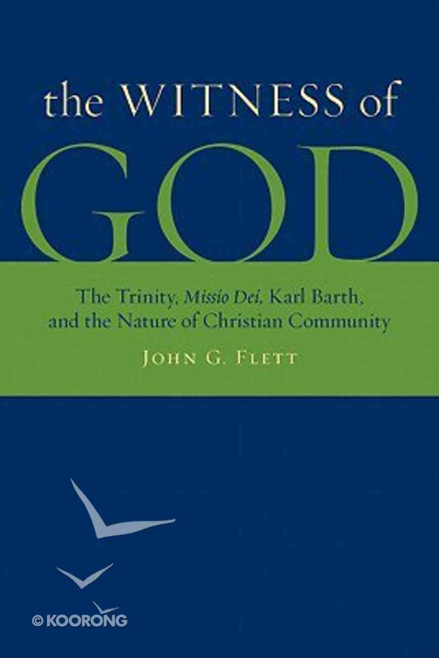 The Witness of God Paperback