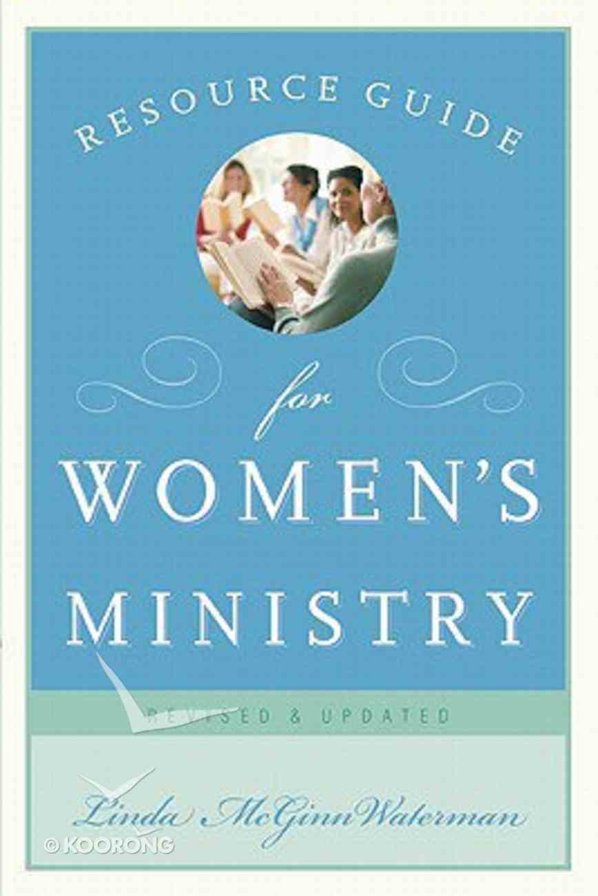 Resource Guide For Women's Ministry Paperback