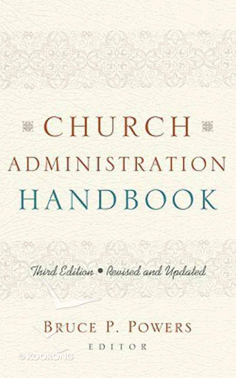 Church Administration Handbook (3rd Edition) Hardback