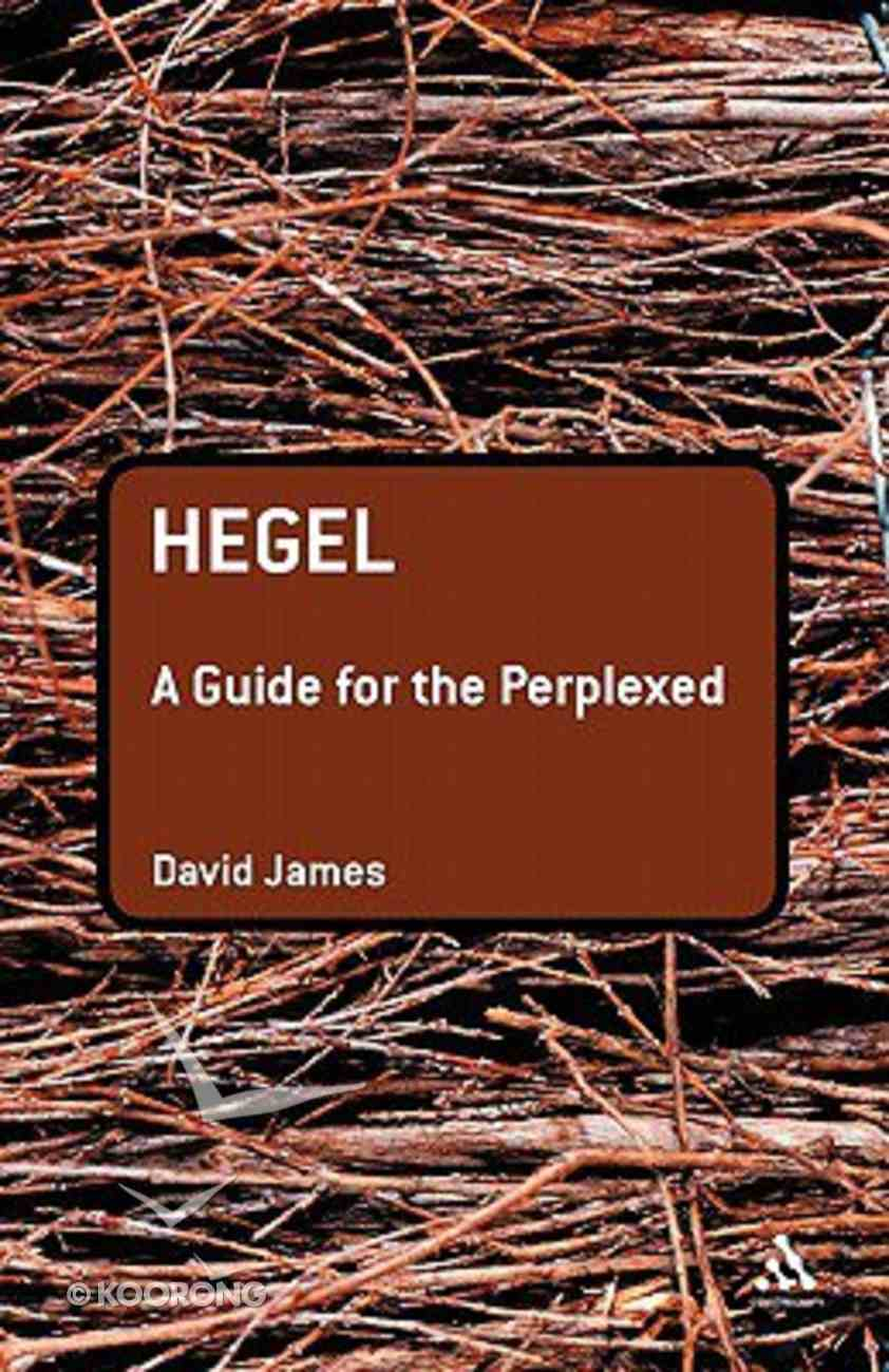 Hegel (Guides For The Perplexed Series) Paperback