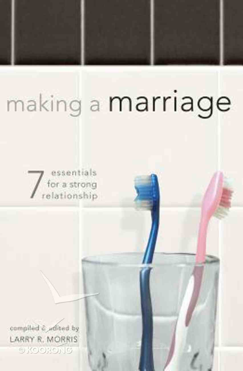 Making a Marriage Paperback