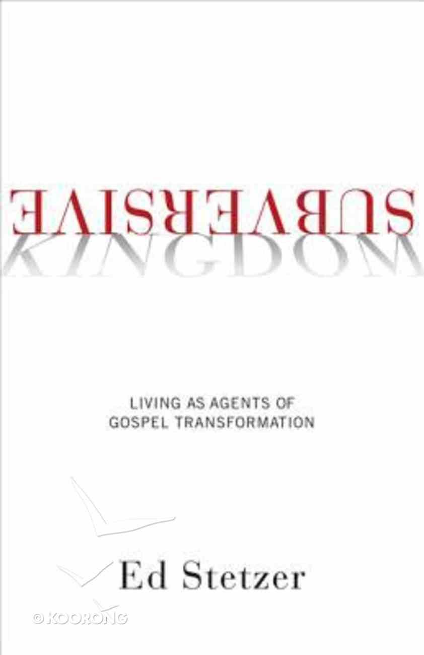 Subversive Kingdom Paperback