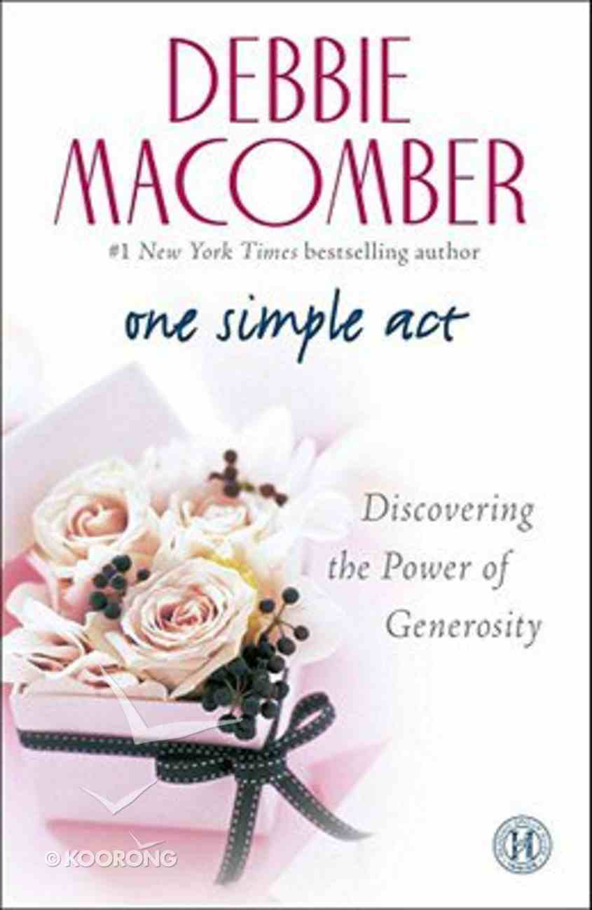 One Simple Act Paperback