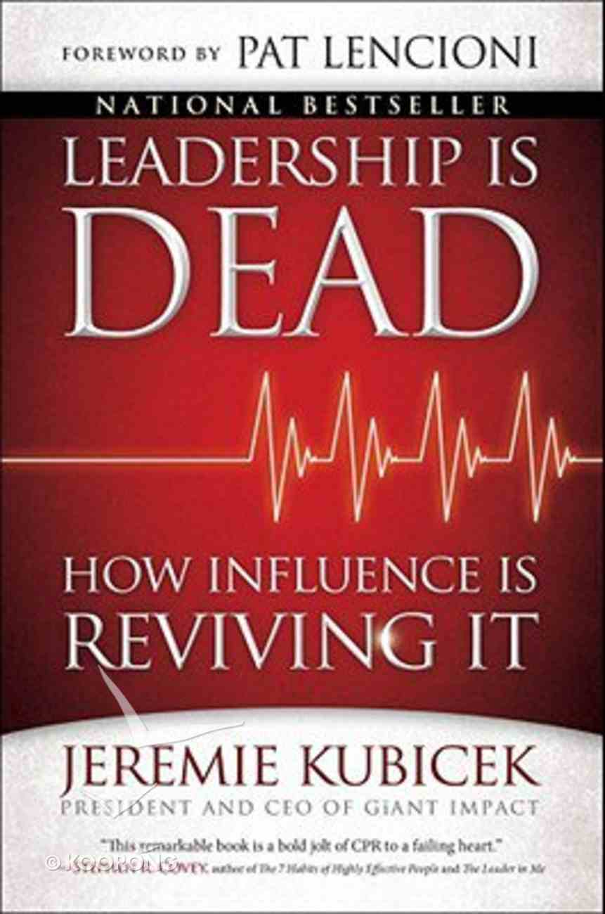 Leadership is Dead Paperback