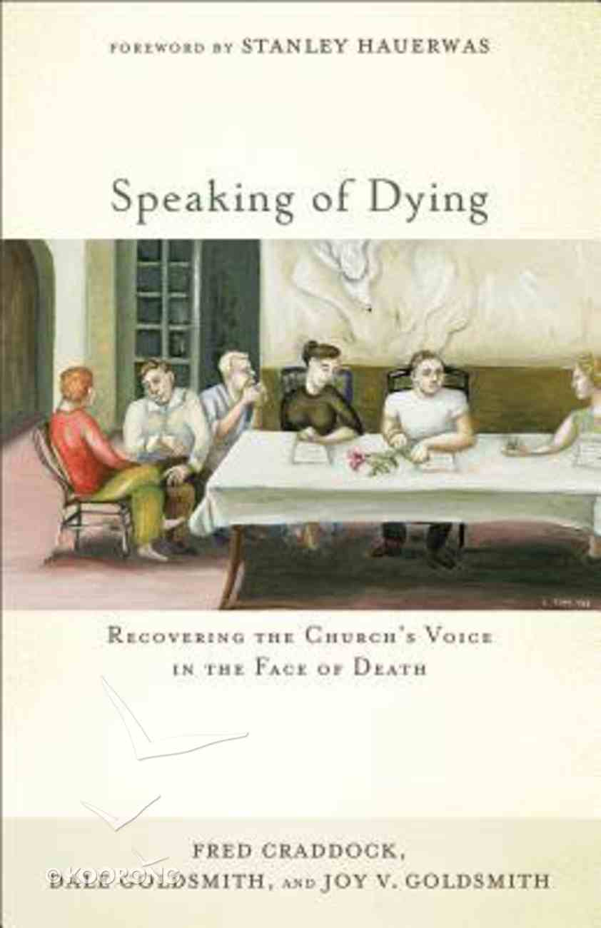 Speaking of Dying Paperback