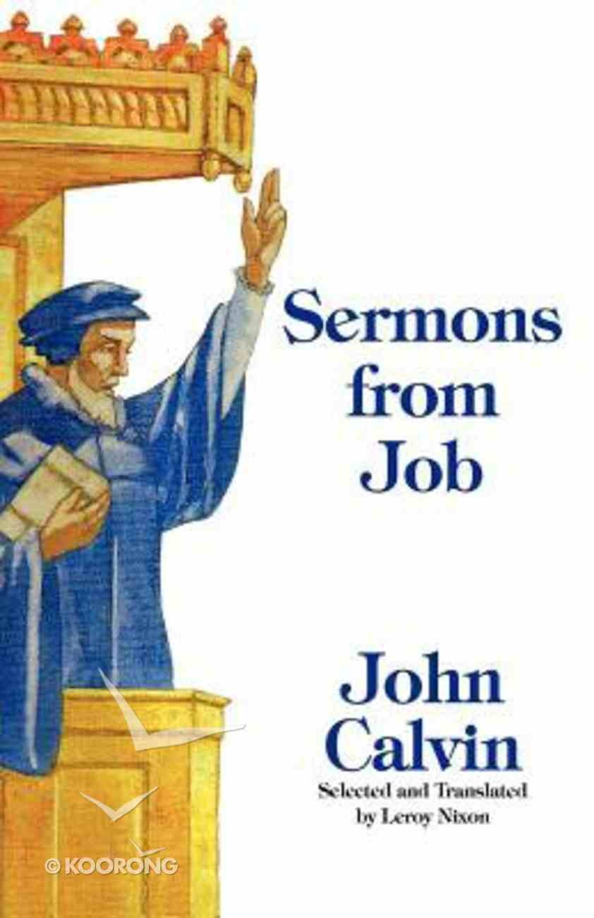 Sermons From Job Paperback
