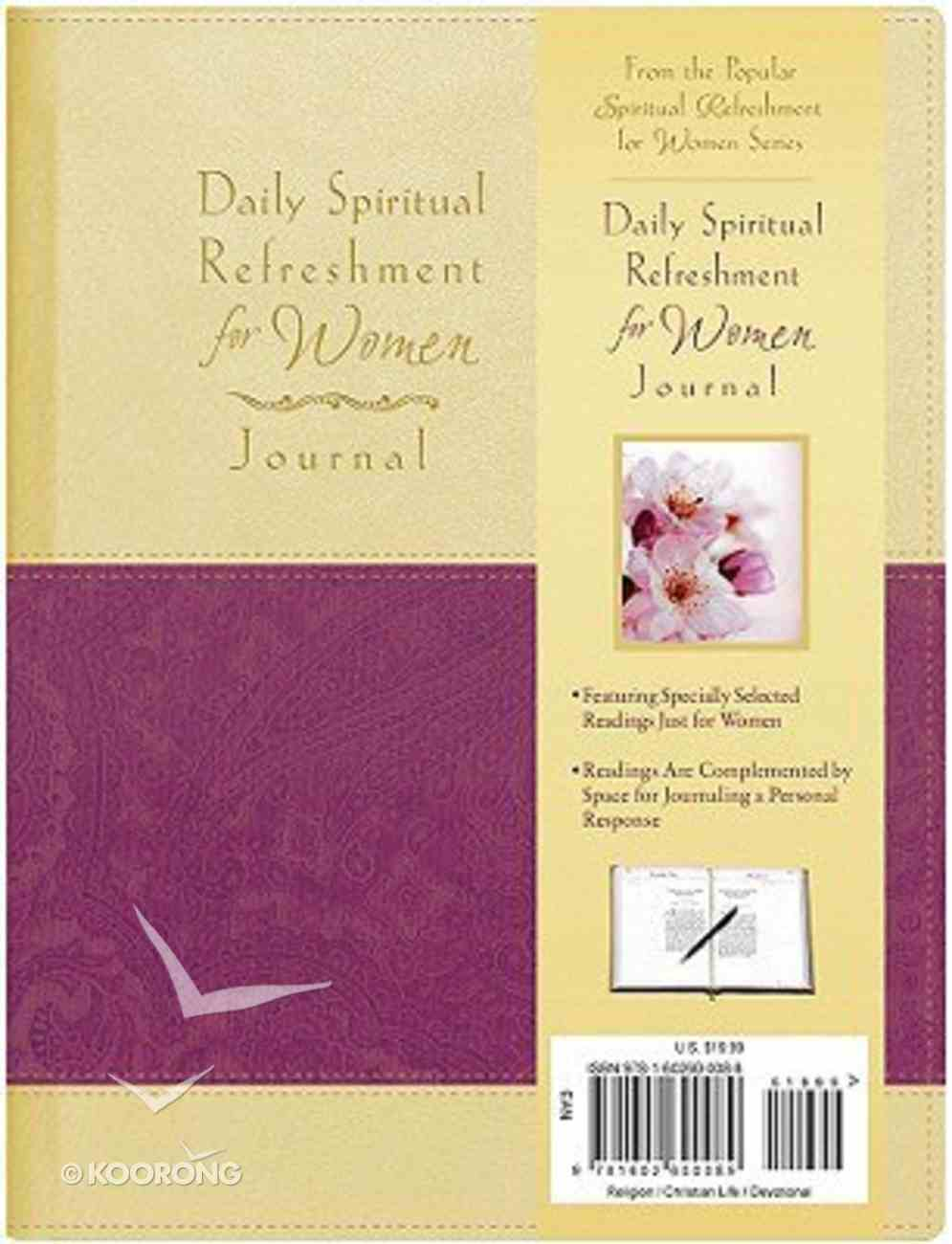Daily Spiritual Refreshment For Women Journal Imitation Leather