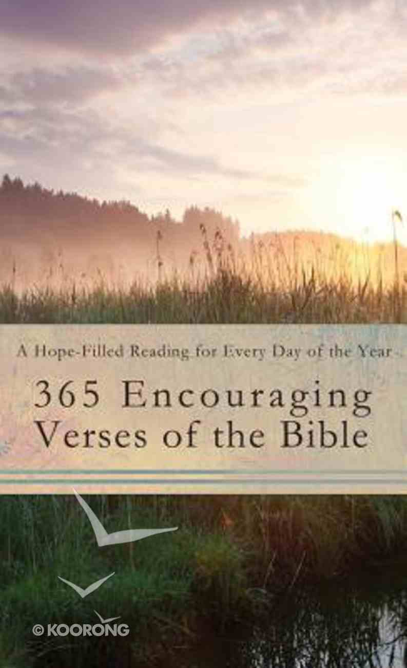 365 Encouraging Verses of the Bible Mass Market