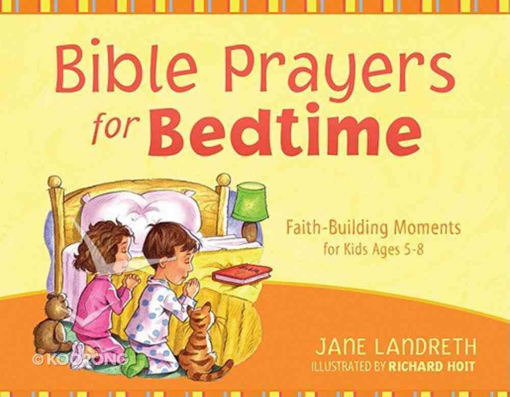 Bible Prayers For Bedtime Hardback