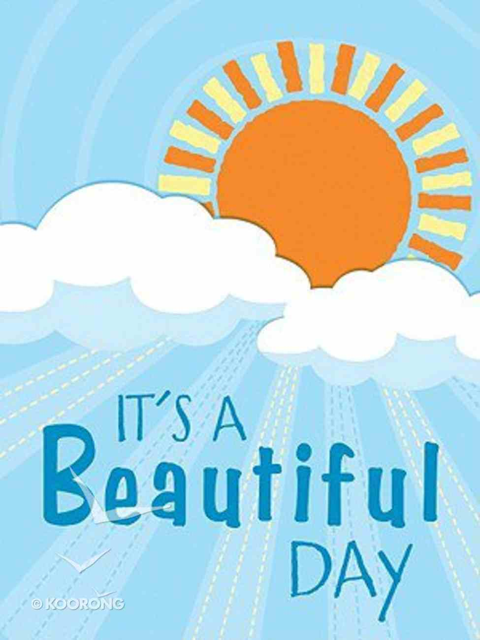 Mini Notes: It's a Beautiful Day Stationery