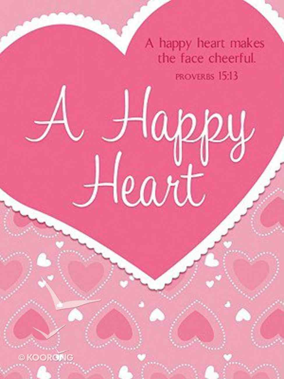 Mini Notes: A Happy Heart Stationery