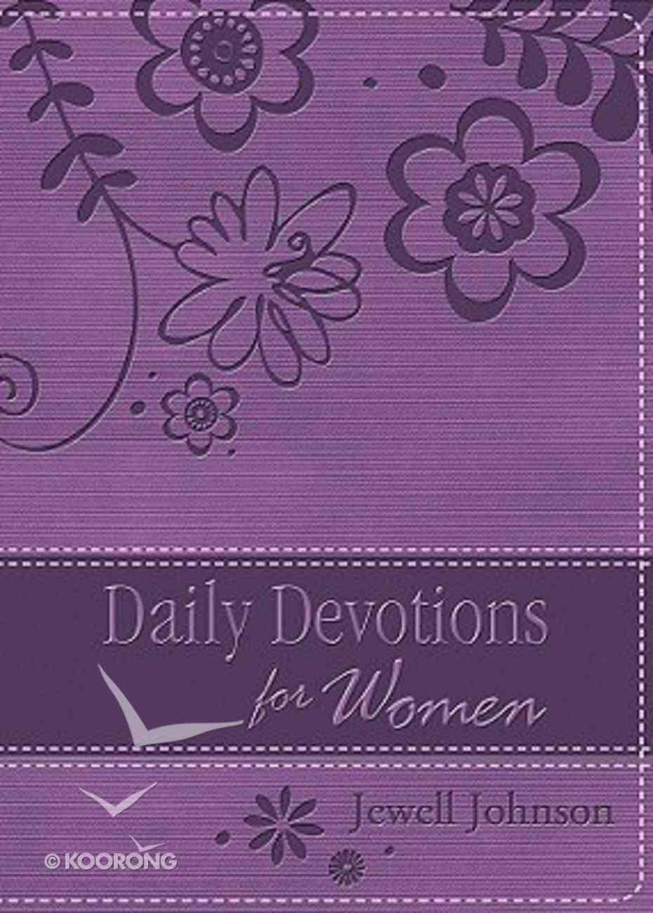 Daily Devotions For Women Imitation Leather