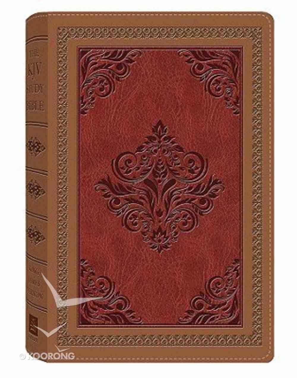 KJV Study Dicarta Antique Imitation Leather