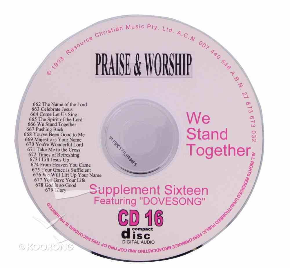 Rcm Volume C: Supplement 16 We Stand Together (2 Cds) (662-679) CD