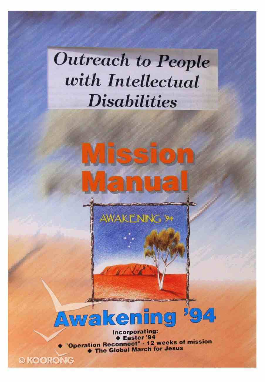 Outreach to People With Intellectual Disabilities Paperback