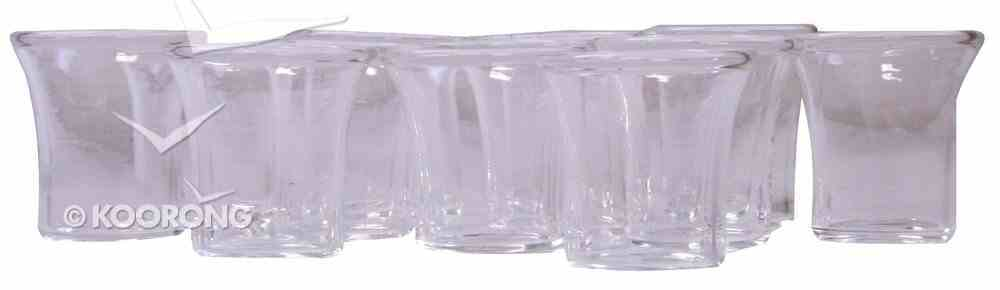 Communion Cups Small Glass (Set Of 12) Church Supplies