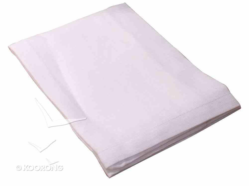"""Communion Bread Plate Napkin: Plain 100% Pure Linen (Rw 57X) (13 1/2"""" X 13 1/2"""") Church Supplies"""
