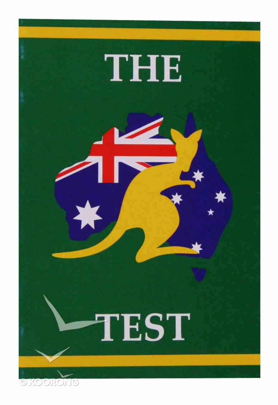 The Test Booklet